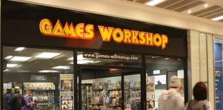 Games Workshop revenue