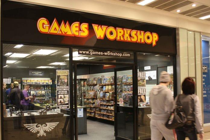Games Workshop revenue