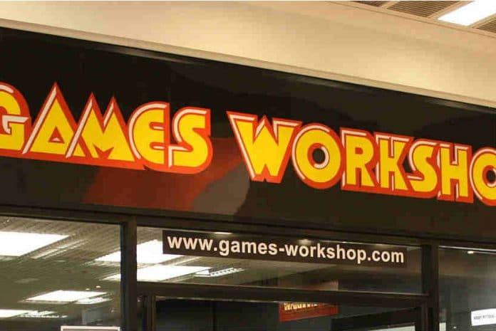 Games Workshop half year