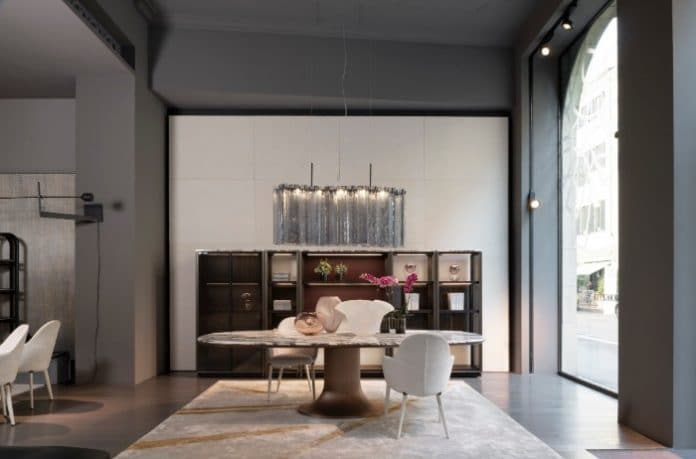 Swell Italian Furniture Brand Giorgetti Picks West London For Download Free Architecture Designs Rallybritishbridgeorg