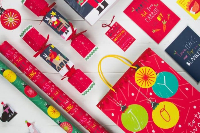 War on Plastic: M&S opts for glitter-free Christmas cards & wrap