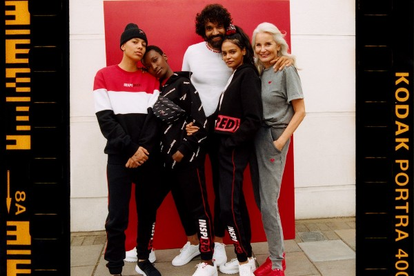 Primark has partnered with (RED) to support the Global Fund's fight against AIDS, by launching a collection of clothing and accessories, currently available in all Primark stores.