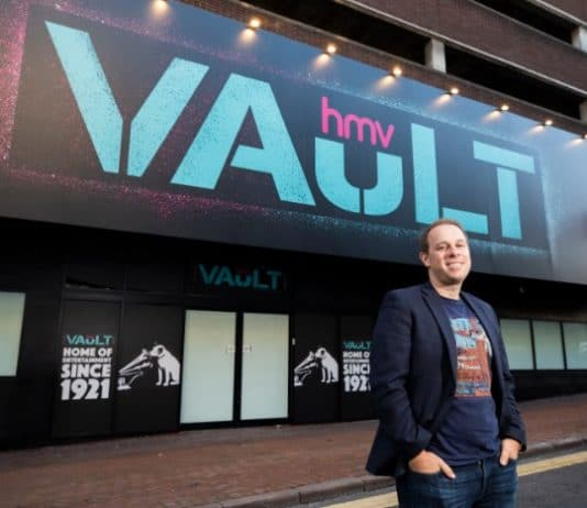 HMV starts revival with Vault in Birmingham, Europe's biggest music store