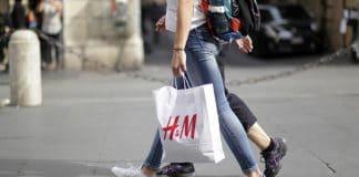 H&M paper bags