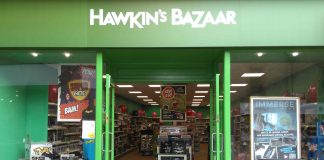 All of Hawkin's Bazaar stores now shut down