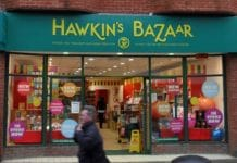 Christie & Co is handling the sale of Hawkin's Bazaar, which is owned to Tobar International