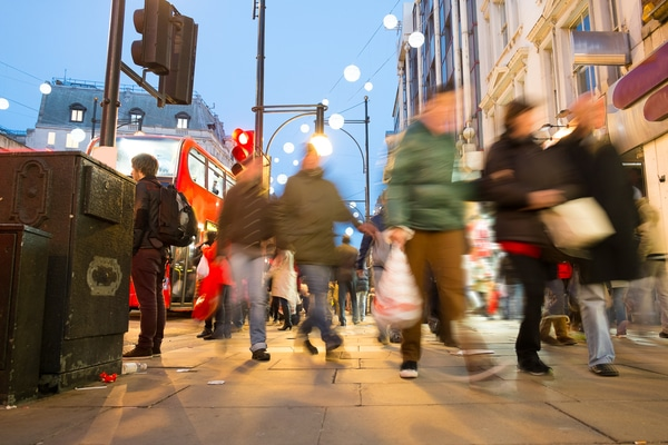 High streets suffer worst September since 2011