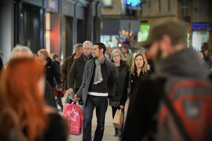 Retail sales slow