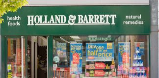Holland & Barrett sales
