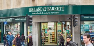 Holland & Barrett posts jump in sales in Christmas quarter