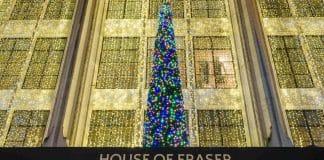 House of Fraser pop-up