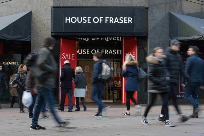 House of Fraser refinance