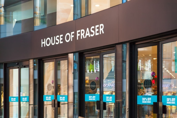 House of Fraser The Presidents Club Mike Ashley