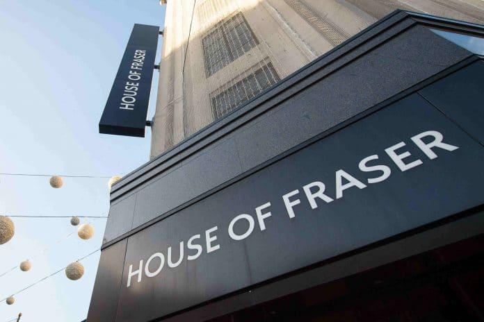 House of Fraser Simon Pickering