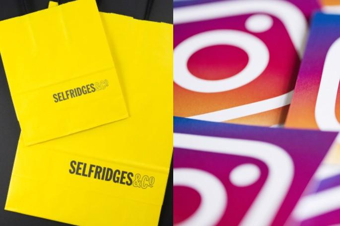 Selfridges partners with Instagram to launch exclusive UK pop-up