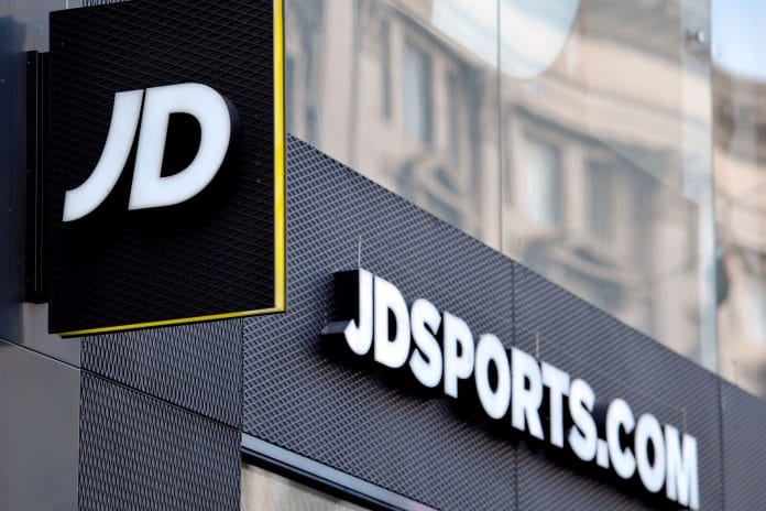 JD Sports shares Footasylum Pentland Group