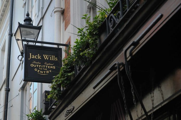 Jack Wills cash