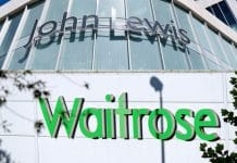 John Lewis Partnership weekly sales decline 1.9%, a slight improvement on last week's 2.4% decline