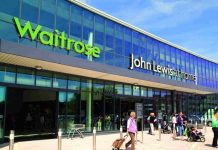 John Lewis Partnership weekly sales Christmas