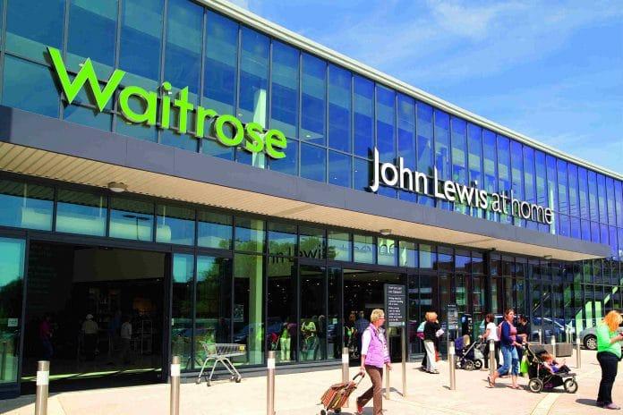 John Lewis Partnership weekly sales Christmas