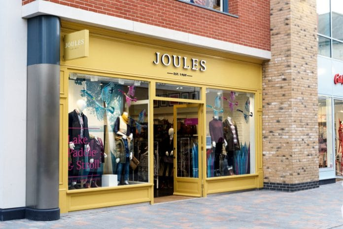 Joules Nick Jones Christmas trading update