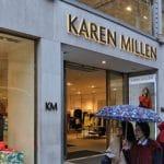 Boohoo buys Karen Millen Coast for £18.2m pre-pack administration 62 job cuts 1100 risk redundancies
