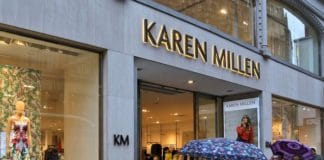 Boohoo buys Karen Millen Coast for £18.2m pre-pack administration 62 job cuts 1100 risk redundancies