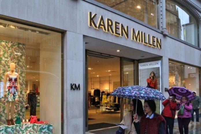 Karen Millen Coast Boohoo acquisition store closures