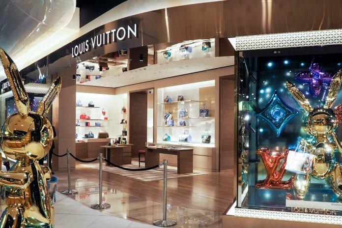 Louis Vuitton shares