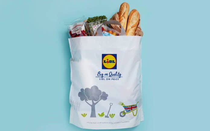 Lidl plastic bag