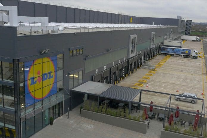 Lidl warehouse