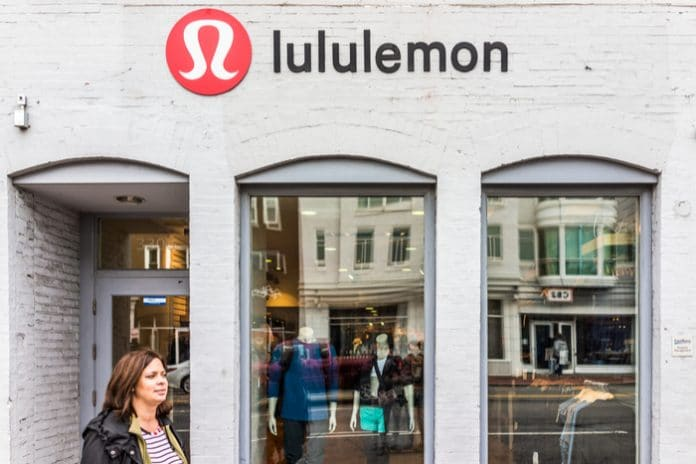 Lululemon's sales and profits have risen over the year