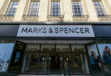 Marks and Spencer M&S CFO Humphrey Singer David Surdeau
