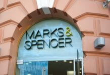 M&S launches new campaign recycle bras Shwop recycling deposit boxes Oxfam.