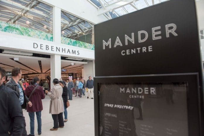 Mike Ashley's Sports Direct picks Wolverhampton's Debenhams in Mander Centre to roll out Frasers, an upmarket House of Fraser concept