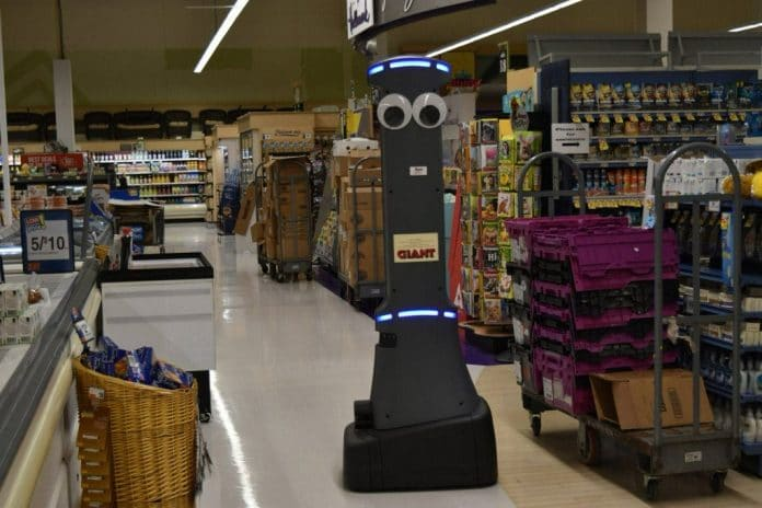 US grocery giant Ahold Delhaize to roll out 500 6ft robots