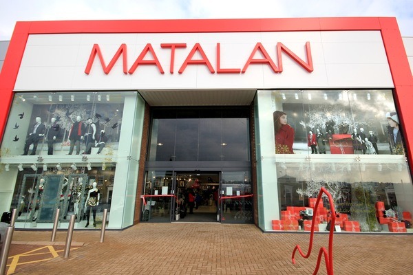 Total revenue up 2% for Matalan's full year trading