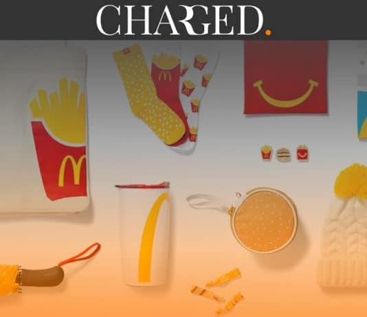 McDonald's has launched its very own fashion range which it now sells through its very first ecommerce website.