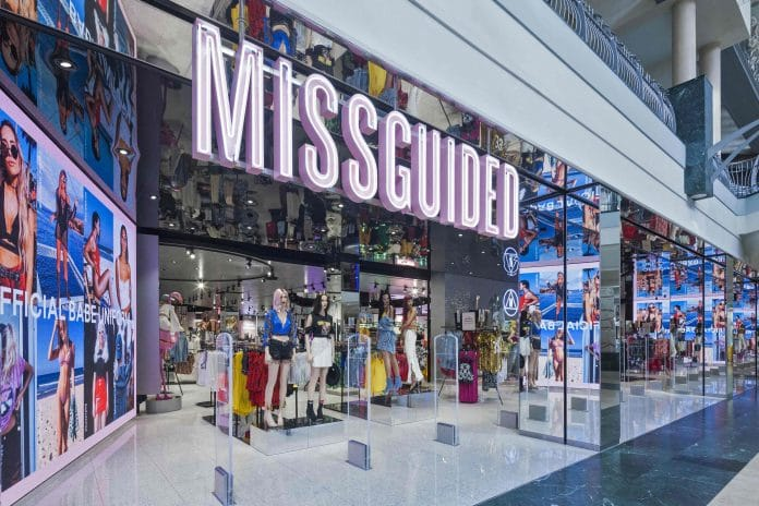 Missguided sales