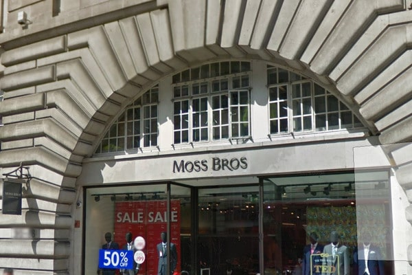 Moss Bros Joules