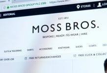 Moss Bros loss