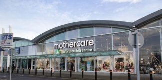 Mothercare store closures administration PwC closing down sale discounting