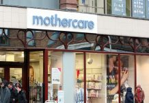 mothercare half year