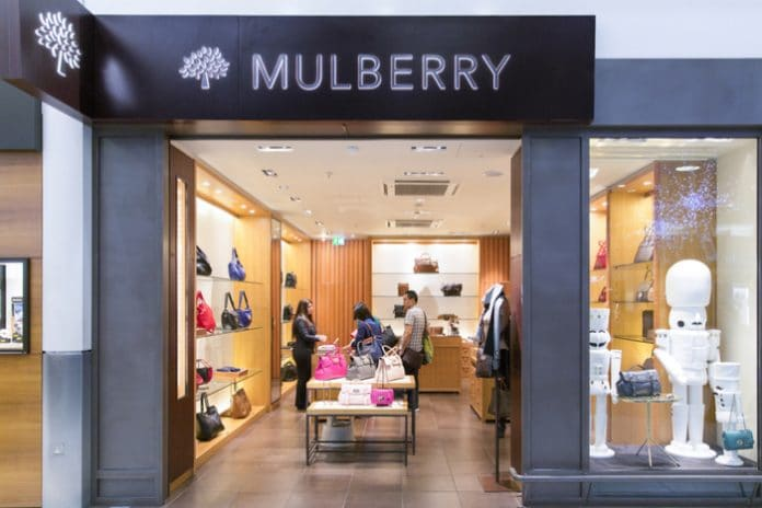 Mulberry finance director
