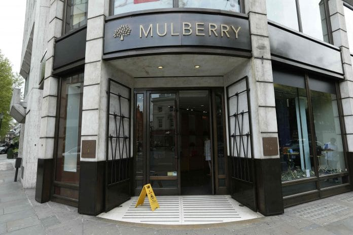 Mulberry half-year losses widen to £9.9m