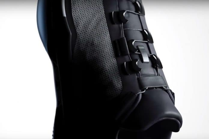 phone controlled self lacing trainers