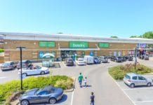 Northolt Retail Park in Harrow, North London has sold for £11 million to the Aitch Group. On behalf of LaSalle Investment Management, Savills sold the 32,000sq ft park which is now fully let to retailers Dunelm, Homesense and Sports Direct.