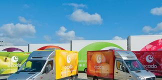Ocado half year loss