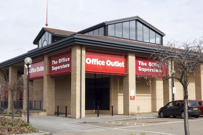 Office outlet job cuts