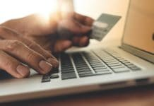 February online retail sales